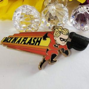 4/$25 Disney Back in a Flash Dash, Incredibles Pin